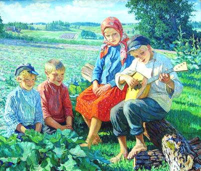 музыкальные русские народные инструменты - Балалайка