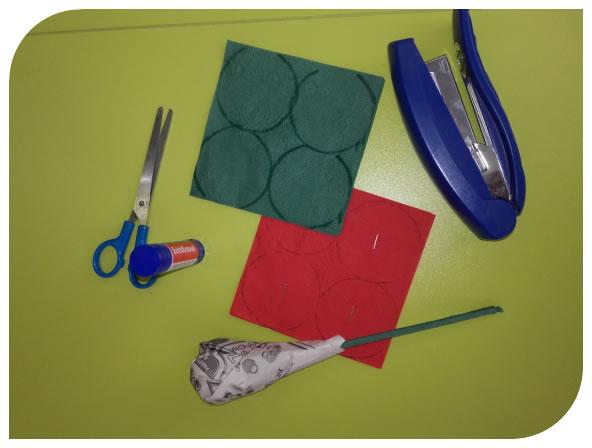 Набор инструментов, чтобы изготовить подарок