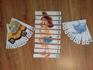 Дидактические игры по математике для детей старшего дошкольного возраста.