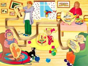 """Интеллектуальная игра """"Мой дом, моя семья""""."""