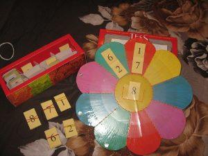 "Картотека ""Весёлая математика"""