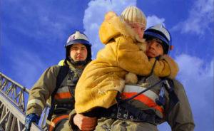 Пожарные-самые смелые и сильные