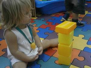 Игры-занятия со строительным материалом